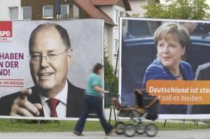 carteles electorales alemania